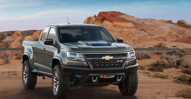 Colorado ZR2 Concept is Chevrolet s Vision For Future Pick