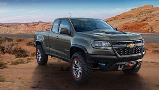 colorado zr2 concept is chevrolet's vision for future pick-up trucks