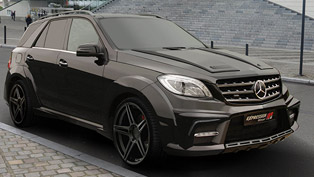 Facelift for Expression ML w166 wide body R2Z