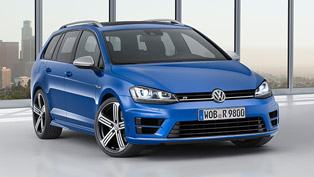 Volkswagen Reveals New Golf R Estate at LA Auto Show