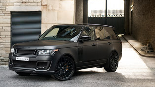 Kahn Range Rover Vogue 600-LE Bathes in Volcanic Rock Satin