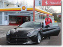 Clocking up the Miles: Kimi and the F12 Berlinetta [VIDEO]