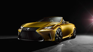 Lexus Presents LF-C2 Luxury Roadster Concept