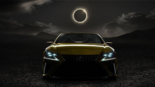 Lexus Shows the Front and Interior of LF-C2 Concept
