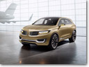 Lincoln MKX Concept's Dynamic LEDs Lighten Up its Way in Los Angeles