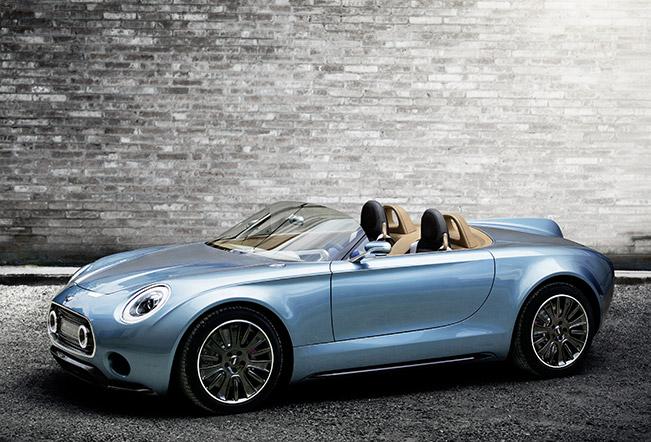 The New Mini Superleggera Vision Concept Car At 2014 La Auto Show