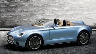 The New MINI Superleggera Vision Concept Car at 2014 LA Auto Show