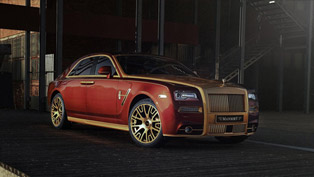 mansory releases power and styling packages for rolls-royce ghost ii