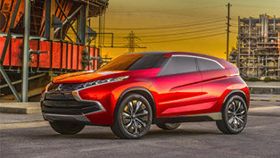 Mitsubishi Concept XR-PHEV Crossover Debuts in L.A.