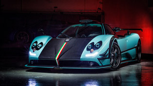 Pagani Reveals One-Off Zonda 760RSJX