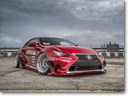 Lexus Shows Two Custom 2015 RC F Studs at SEMA