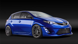 Scion iM Concept is an Edgy Auris Debuting in L.A.