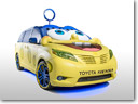 2015 Toyota Sienna Receives a SpongeBob Movie-themed Look