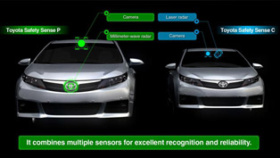 Toyota Introduces Next-Gen Integrated Safety Technology [VIDEO]