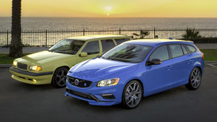 Volvo Compares 855 T5-R and V60 Polestar
