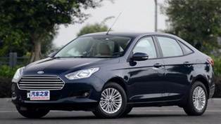 Ford Escort Revealed Ahead of Market Launch ... in China