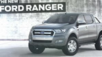2015 Ford Ranger Shows Glimpse of its new Face [VIDEO]