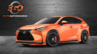 Custom Lexus NX 200t F SPORT also Starring at SEMA