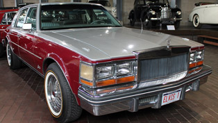 Elvis Presley's Cadillac Seville on Display