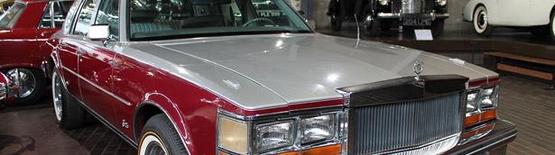 Elvis Presley's Cadillac Seville on Display