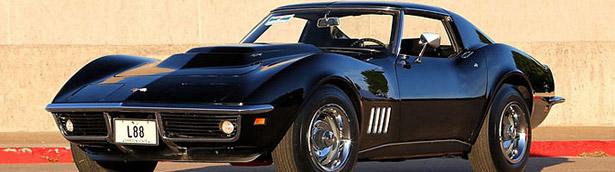 Mecum Auction to Present 1967 Chevrolet Corvette Convertible and 1969 Chevrolet Corvette L88 Coupe