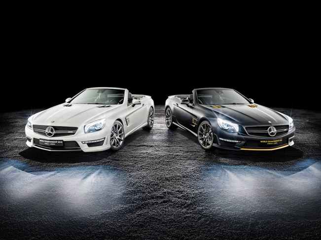2014 Mercedes-Benz SL63 AMG World Championship Collectors Edition 01