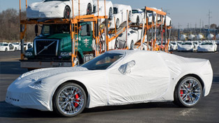 2015 Chevrolet Corvette Z06 on its Way to Customers Just Ahead of Christmas!
