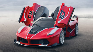 World Debut of Ferrari FXX K