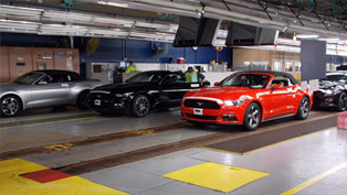 Ford Starts Shipping 2015 Mustang Convertible to Dealerships