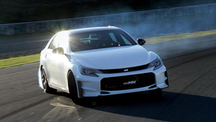 2015 Toyota Mark X GRMN is an Expression of Pure Driving Joy