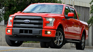 2015 Ford F-150 Becomes Official Vehicle of 2015 International CES