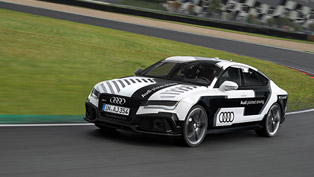 Audi Takes to the Race Track with the Sportiest Piloted Driving Car Worldwide