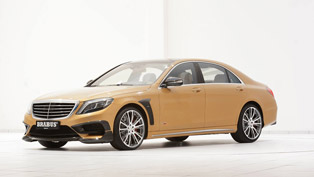 Mercedes-Benz s63 AMG Reworked by Brabus