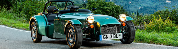Caterham Cars to Exhibit at Auto Retro 2014
