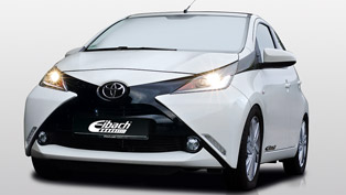 The New Toyota Aygo Enhanced by Eibach