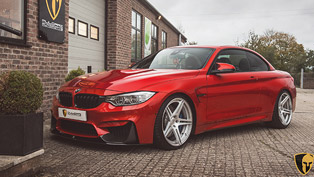 F82 BMW M4 Receives Akrapovic Evolution Line Exhaust System Installs