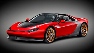 One-off Ferrari Sergio Arrives in UAE