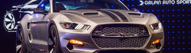 I Love the 60's American Muscle Cars: Fisker and GAS Reveal Ford Mustang Rocket