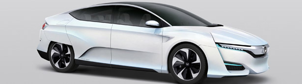 Honda FCV Concept To Make North American Debut in January