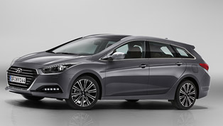 Hyundai Unveils Improved i40 for Europe