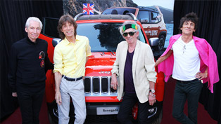 2015 Jeep Renegade signed by the Rolling Stones Auctioned by Charitybuzz