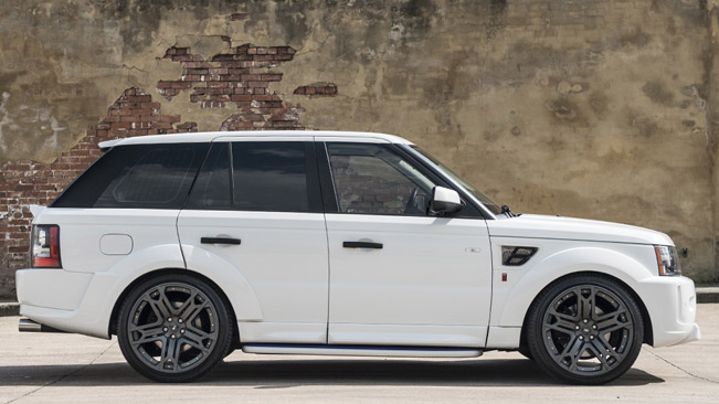 Kahn Reveals Range Rover Sport Rs300 In Fuji White