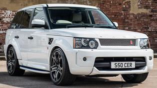 Kahn Reveals Range Rover Sport RS300 in Fuji White