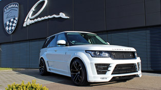 lumma design gt evo styling kit for the range rover clr r