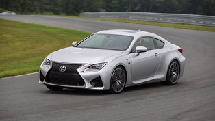 lexus rc f: equipped with advanced drive and handling systems
