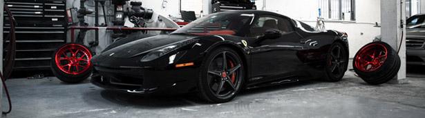SR Auto Teases Future Project on Liberty Walk Ferrari 458 Italia