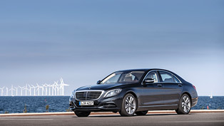 Mercedes-Benz S 500 Plug-in Hybrid Wins Environmental Certificate