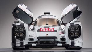 2015 Porsche 919 Hybrid is Here!