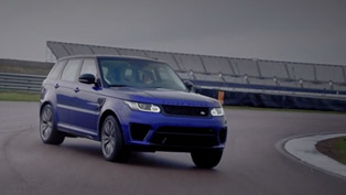 Range Rover Sport SVR Tested to the Limit [VIDEO]