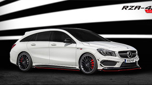 revozport releases aero-boost for cla shooting brake
